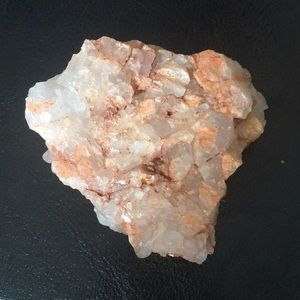 Crystal quartz geode